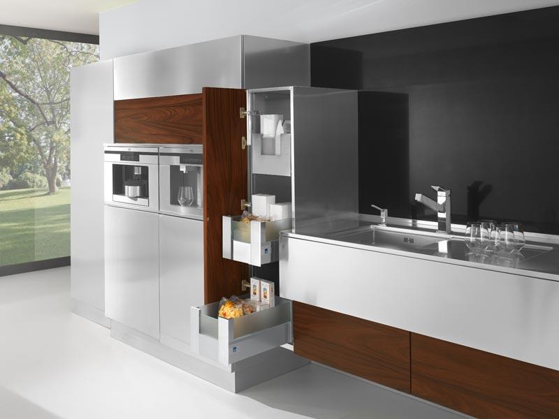 La madera en la cocina de vanguardia cocinas con estilo - Disenar tu cocina ...