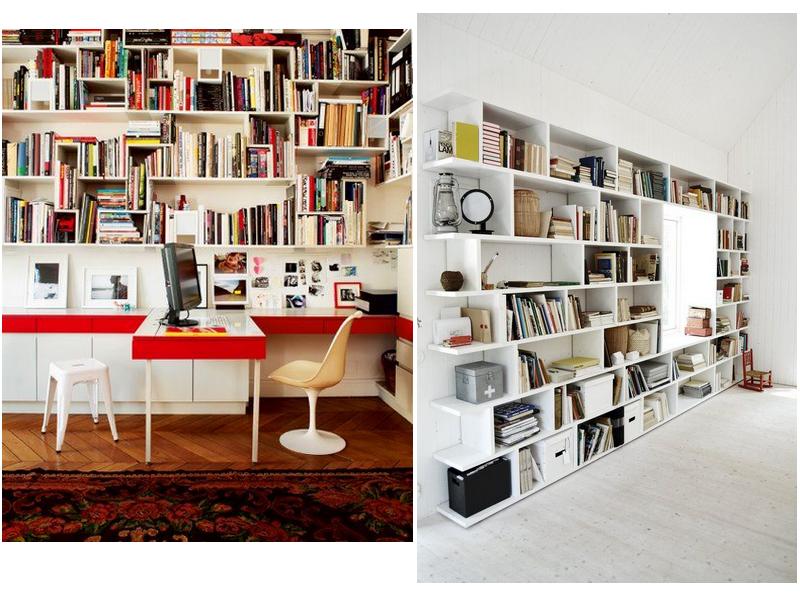 twii 39 s blog bureau biblioth que pour petits espaces. Black Bedroom Furniture Sets. Home Design Ideas