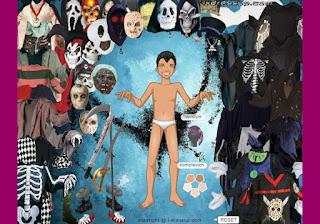 game trang điểm Halloween cho nam vui nhộn