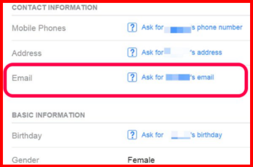 How To Find Someone's Email Address On Facebook