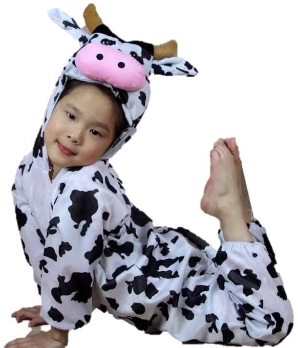 disfraz - vaca - niña - vacaslecheras.net