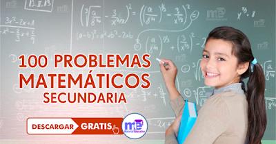 100 problemas matemáticos para secundaria