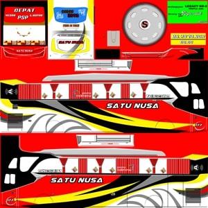 Livery Satu Nusa SHD Original