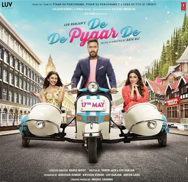 DE DE PYAR DE FULL MOVIE DOWNLOAD HD 2019