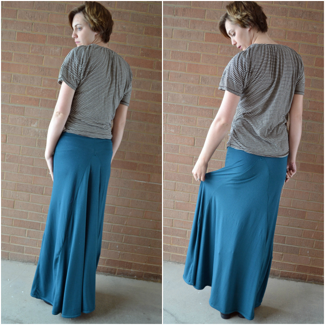 cfb2adc1f72daa Ruched Maternity Maxi Skirt • Heather Handmade