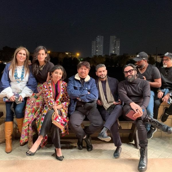 Famous Celebrities Spotted at Zainab Chottani's Bagh e Ishq Fashion Show