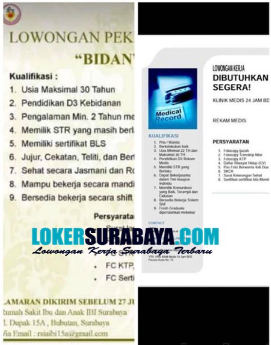 Info Loker Di Rumah Sakit Ibu Dan Anak Ibi Surabaya Juli 2020 Lowongan Kerja Surabaya April 2021 Lowongan Kerja Jawa Timur Terbaru