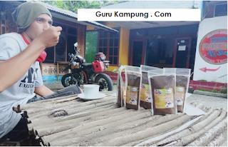 Teks Prosedur Cara pembuatan kopi sachet