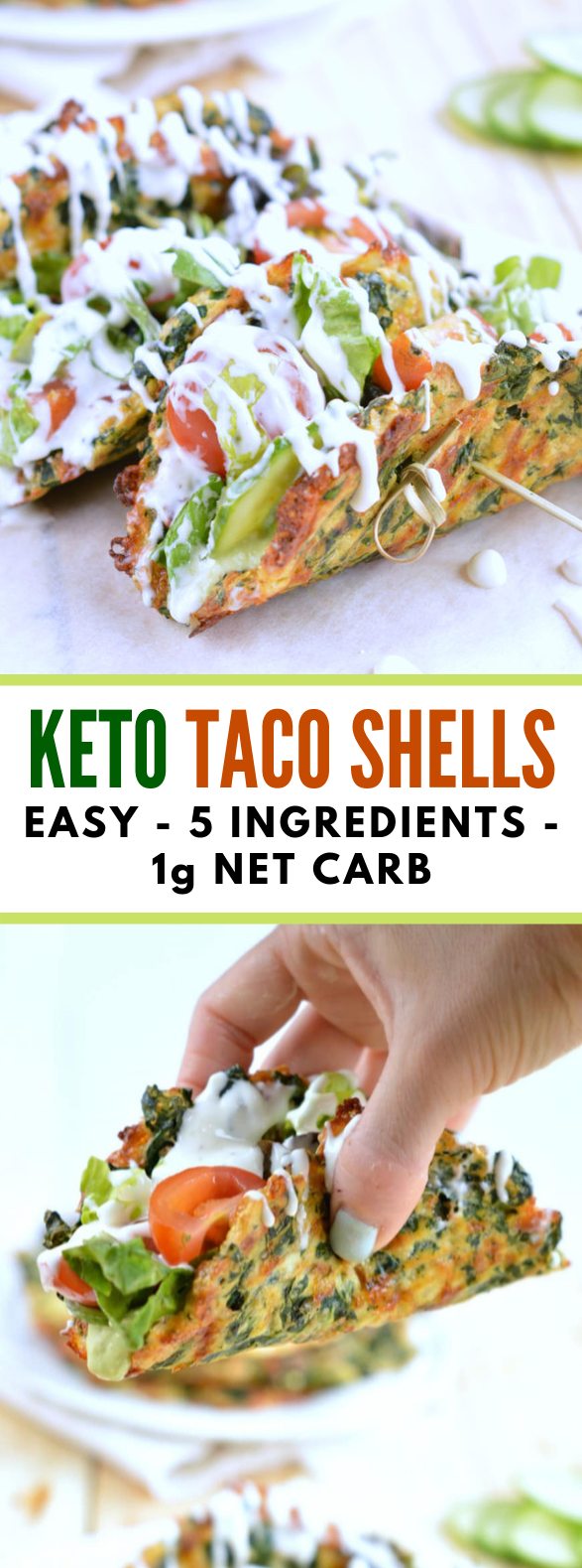 SPINACH CHEESE TACO SHELLS KETO + LOW CARB #healhty #diet #ketogenic #lowcarb #aip