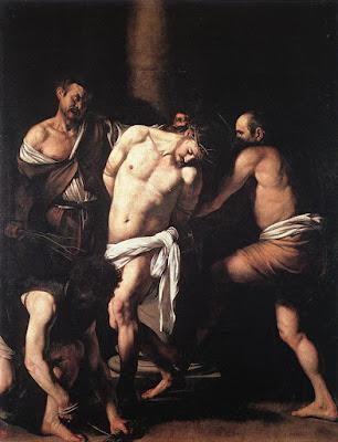 Caravaggio, La flagelación de Cristo