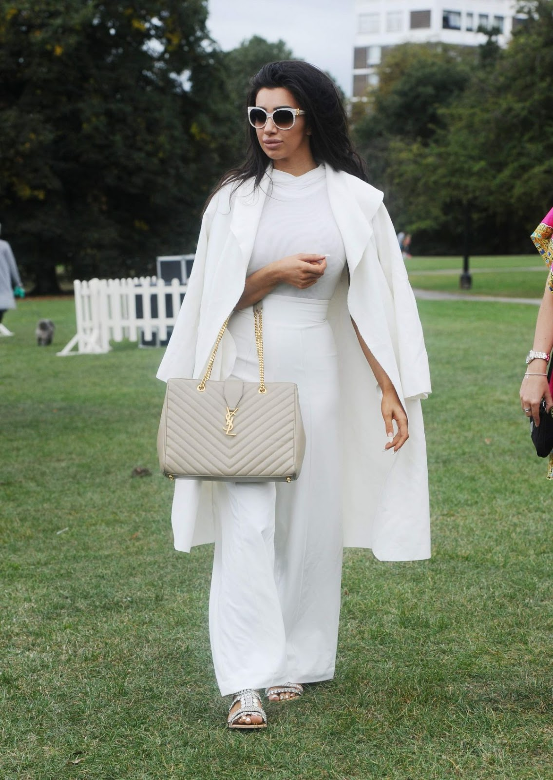 HQ Photos of Chloe Khan At Pupaid Anti Puppy Farming Event In Primrose Hill