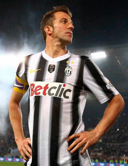 96dffc54d6e That is what tied and will always tie Alessandro Del Piero and Juventus.  Dates impressed are those of the first match of Del ...