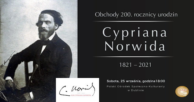 Obchody 200. rocznicy urodzin Cypriana Norwida.