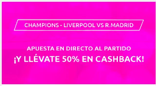 Mondobets promo Liverpool vs Real Madrid 6 abril 2021