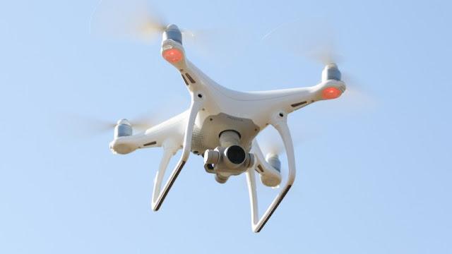 câmera voadora
