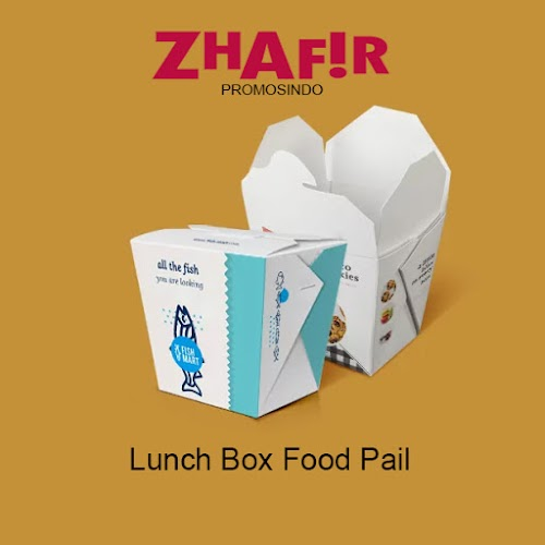 Cetak Lunch Box Food Pail