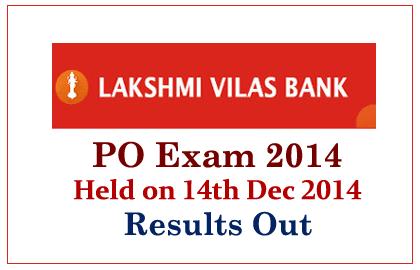 Lakshmi Vilas Bank Results Out