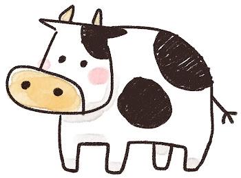 牛のイラスト(丑年・干支)