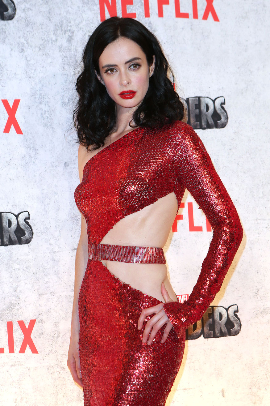 Actress Krysten Ritter At The 'Marvel's The Defenders' New York Premiere