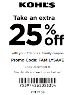 Kohls coupon 20% OFF any purchase