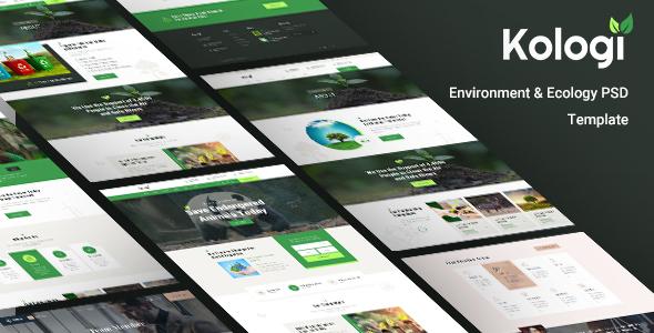 Environment & Ecology Website Template