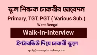 Bankura School Teacher Vacancy