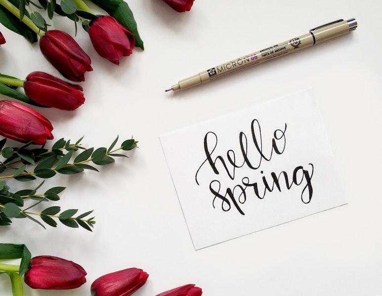 Copywriter-purysta i wiosna. 19-25 marca