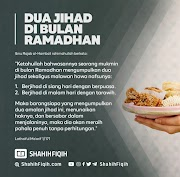 Dua Jihad Di Bulan Ramadhan