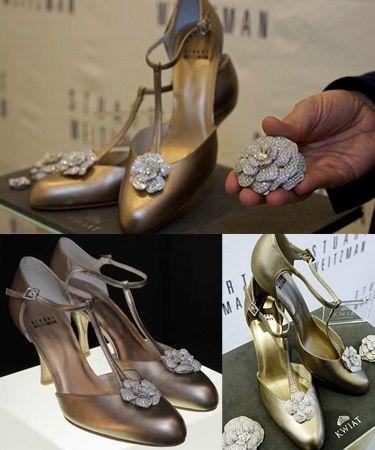En Pahalı Kadın Topuklu Ayakkabıları - Stuart Weitzman - Retro Rose - Kurgu Gücü