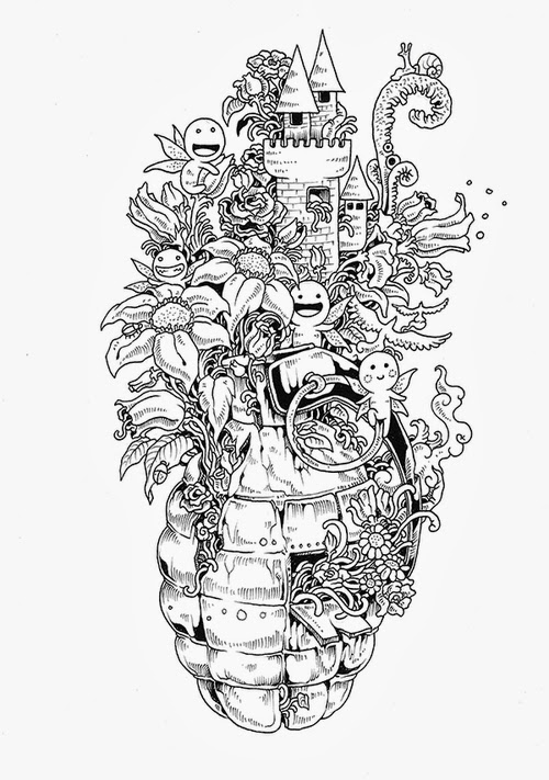 14-Filipino-Artist-Kerby-Rosanes-Doodle-Invasion-Drawings-www-designstack-co
