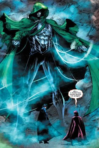 El Espectro es una entidad cósmica de DC