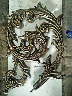 ornamen besi tempa untuk rumah