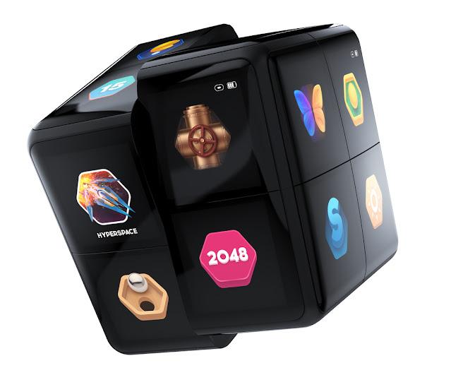 WowCube handheld gaming system