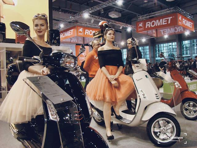 Skutery Vespa - Poznań Motor Show