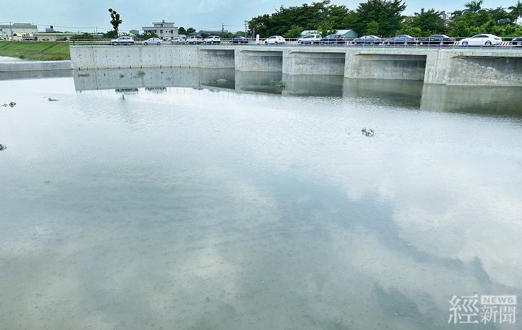 台南安順寮滯洪池完工啟用 改善淹水面積約445公頃