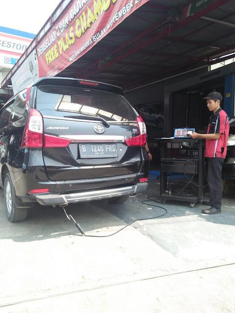 uji emisi kendaraan jemputan karyawan Way Solution