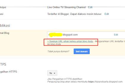 Cara Membuat Subdomain Blogger di Niagahoster