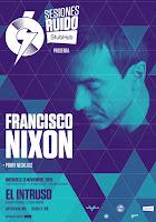 Concierto de Francisco Nixon y Penny Necklace en El Intruso