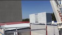 imagen montaje nave de prefabricados de hormigón en aranjuez