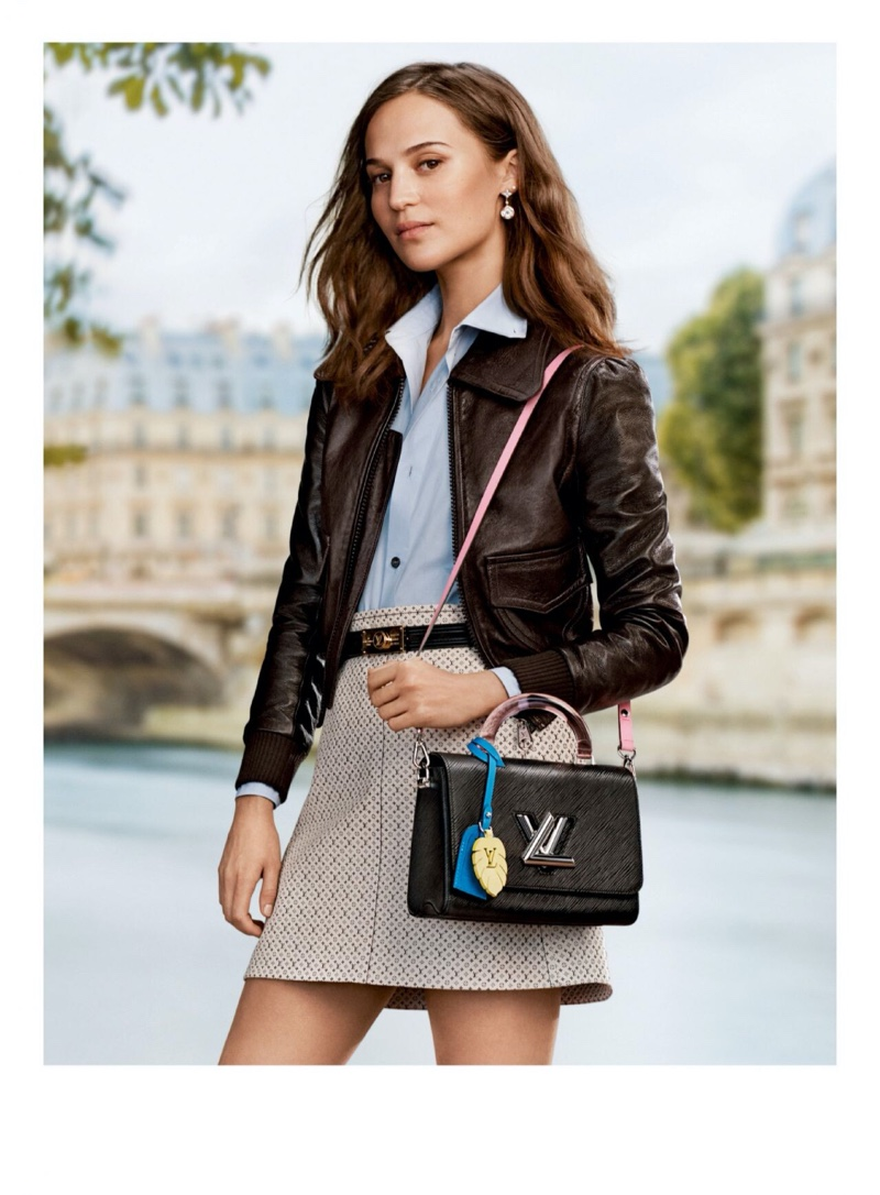 Alicia Vikander fronts Louis Vuitton pre-fall 2020 campaign