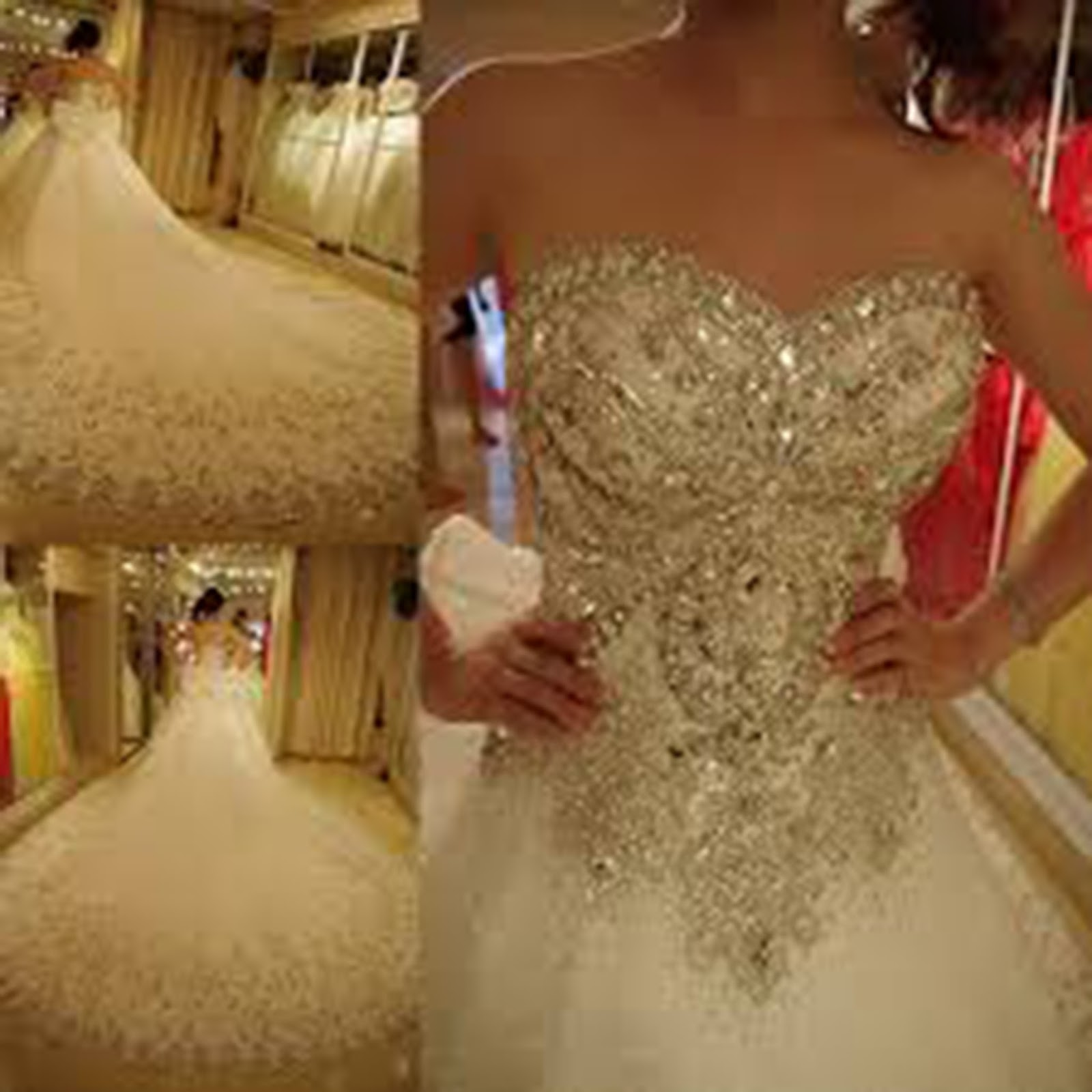 Top 10 Most Expensive Wedding Dresses In The World 2017 Wonder Planet