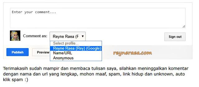 menurunkan nilai spam score blog