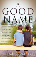Book cover - A Good Name by Sarah Courtney