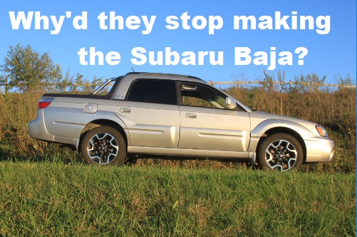 all we 39 ll drive why did subaru stop making the baja video. Black Bedroom Furniture Sets. Home Design Ideas