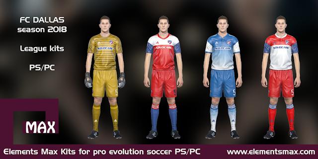 FC Dallas PES Kits