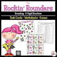 Rockin Rounders 3 Digit Numbers