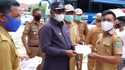 Bupati Buteng Serahkan 19 Unit Motor Operasional Pelayanan Kesehatan