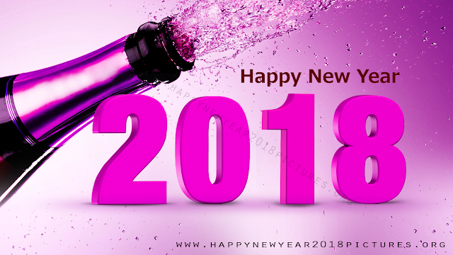 happy new year 2018 pictures beer bottle