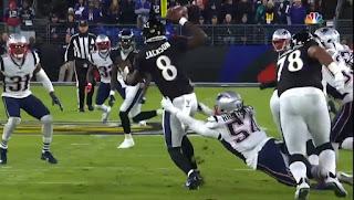 Lamar Jackson | Patriots vs Ravens