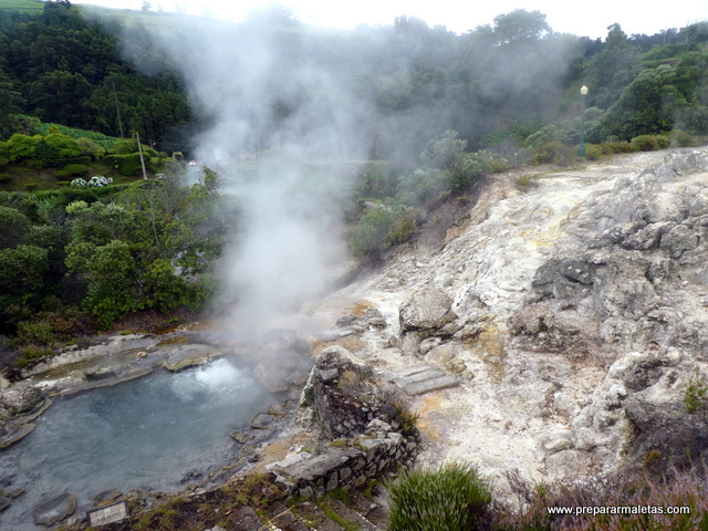actividad volcánica de las islas Azores